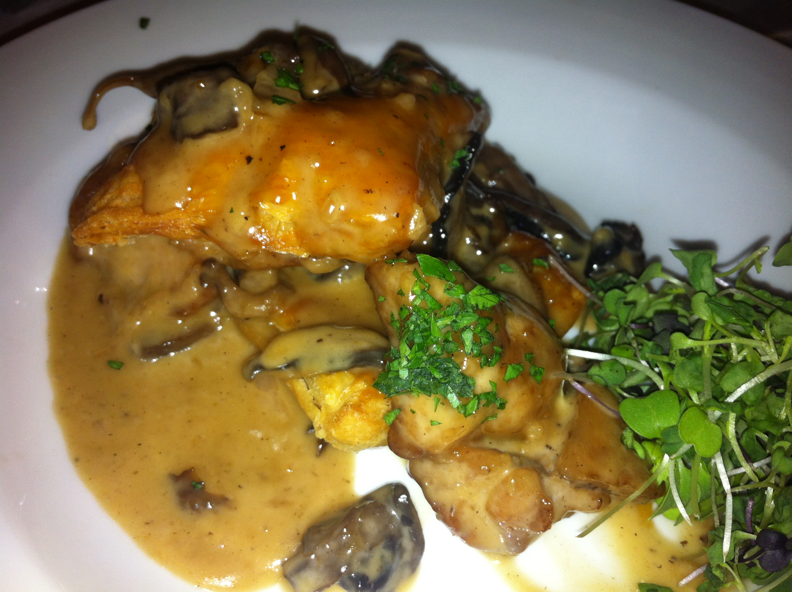 The veal sweetbreads were definitely the favorite on the appetizer ...