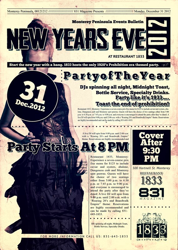 831 Magazine_1833 Prohibition Party flyer