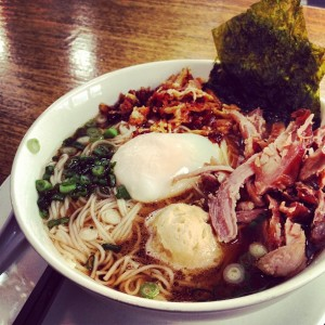 This bowl of savory ramen was perfect for the brisk weather we've had this week.