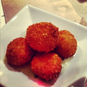 You can never go wrong with arancini!