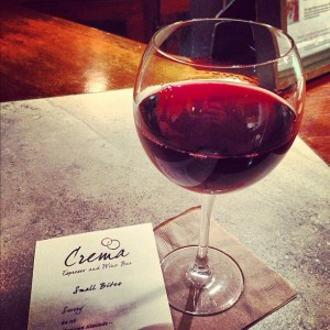 Crema Espresso and Wine Bar is now opening for nighttime tapas!