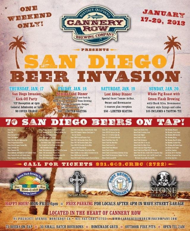 CRBC_San Diego Invasion flyer