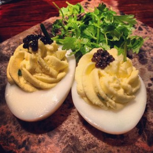 These deviled eggs proved less really is more.