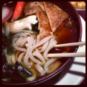 The udon at Crystal Fish needed a little more kick.