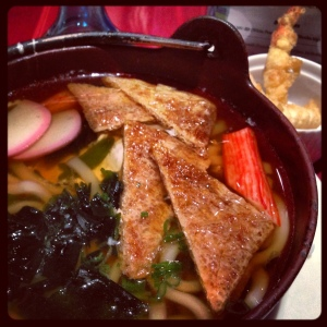 When the temperatures drop, there's nothing like a good bowl of soup, especially Japanese udon soup.