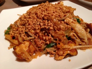 The Pad Thai needed a little kick, but I loved the extra peanuts on top.