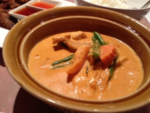 The panang curry had great depth of flavor, with touches of sweet and spicy.