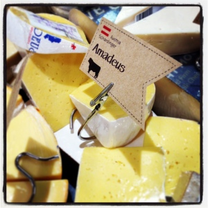 Amadeus is a semi-hard Austrian cow's milk cheese, similar to Havarti.
