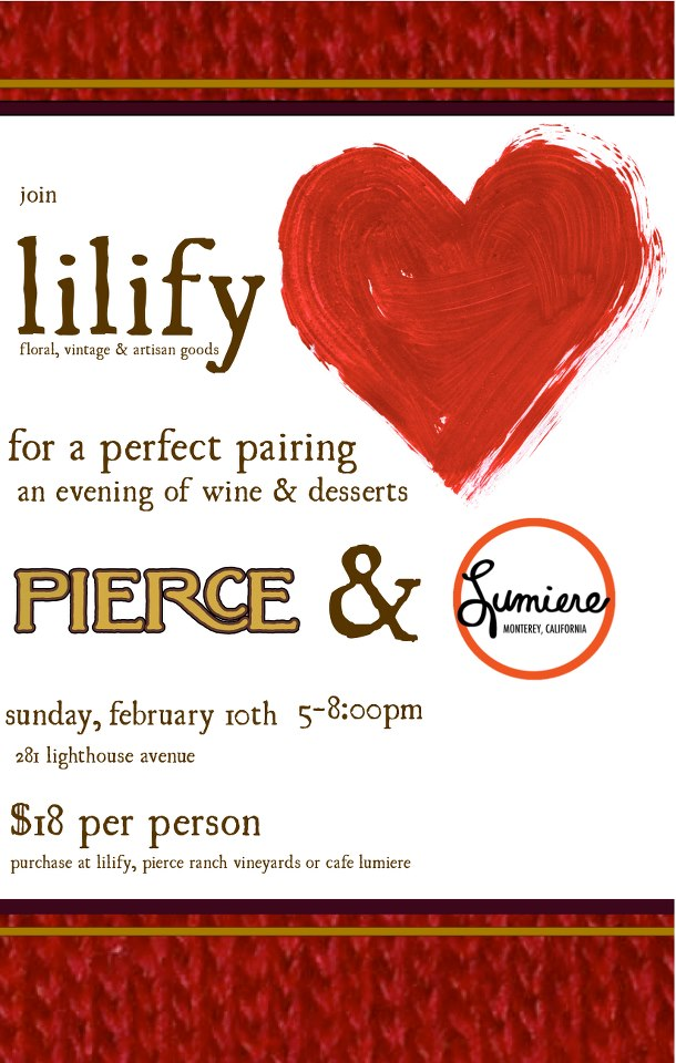 Lilify_Wine tasting flyer