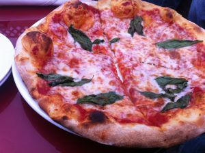 The Margherita is a classic pizza preparation.