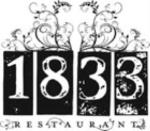 Restaurant 1833_Logo
