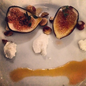 Less really can be more, as this simple dish of figs exemplified.