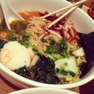 Delicious ramen from Momofuku Noodle Bar is a staple of late-night eats in NYC. Monterey is finally jumping onto the ramen trend too!